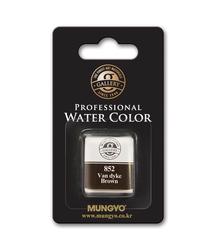 Mungyo - 1/2 Tekli Tablet Suluboya - 852 Van Dyke Brown