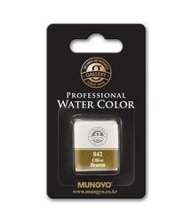 Mungyo - 1/2 Tekli Tablet Suluboya - 842 Olive Brown