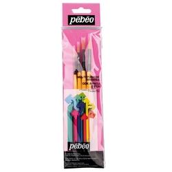 Pebeo - 4'lü Fırça Seti SET 1