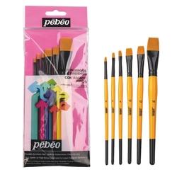 Pebeo - 6'lı Fırça Seti - SET 3