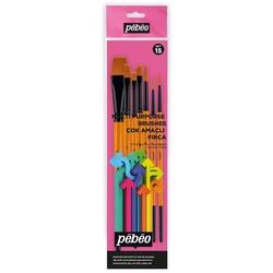 Pebeo - 7'li Çok Amaçlı Fırça Seti - SET 15