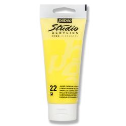Pebeo - Studio Akrilik Boya 100ml 831-22 Lemon Cadmium Yellow