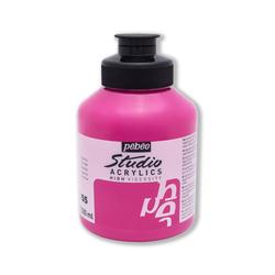 Pebeo - Studio Akrilik Boya 500ml Kavanoz 171-55 Azo Pink