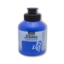 Pebeo - Studio Akrilik Boya 500ml Kavanoz 171-14 Cobalt Blue