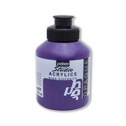 Pebeo - Studio Akrilik Boya 500ml Kavanoz 171-47 Dark Cobalt Violet