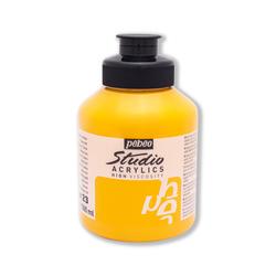 Pebeo - Studio Akrilik Boya 500ml Kavanoz 171-23 Medium Cadmium Yellow