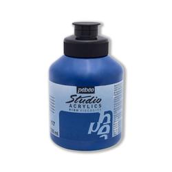 Pebeo - Studio Akrilik Boya 500ml Kavanoz 171-17 Phthalocyanine Blue
