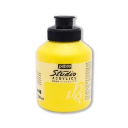 Pebeo - Studio Akrilik Boya 500ml Kavanoz 171-48 Primary Yellow