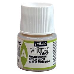 Pebeo - Vitrea 160 Su Bazlı Cam Boya Medium Buzlu 45ml