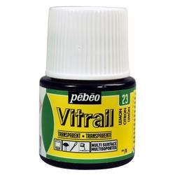 Pebeo - Vitrail Solvent Bazlı Cam Boya 45ml Şişe - 05023 Lemon