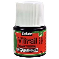 Pebeo - Vitrail Solvent Bazlı Cam Boya 45ml Şişe - 05032 Salmon