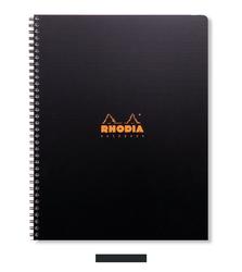 Rhodia - Actv A4 Çizgili Defter Spiral 80 Yaprak