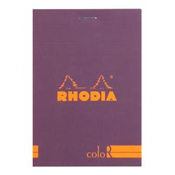 Rhodia - 8,5x12cm Çizgili Blok Purple Kapak 90gr 70 Yaprak