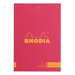 Rhodia - 8,5x12cm Çizgili Blok Rasperry Kapak 90gr 70 Yaprak