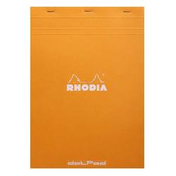 Rhodia - A4 Noktalı Blok Turuncu Kapak 80 Yaprak 80gr