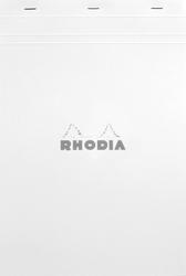 Rhodia - A4 Kareli Blok Beyaz Kapak 80 Yaprak