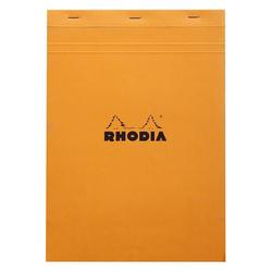 Rhodia - A4 Kareli Blok Turuncu Kapak 80 Yaprak