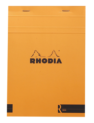 Rhodia - Basic A5 Çizgili Blok TURUNCU Kapak 90gr 70 Yaprak