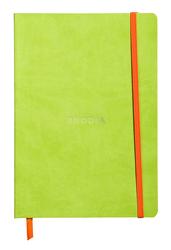 Rhodia - A5 Noktalı Defter A.GREEN Yumuşak Kapak 80 Yaprak 90gr