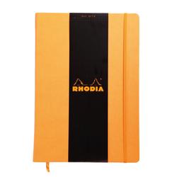 Rhodia - A4 Çizgili Defter Turuncu Sert Kapak 96 Yaprak
