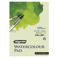 Bigpoint - Water Colour Pad 250gr 25 Yaprak A4